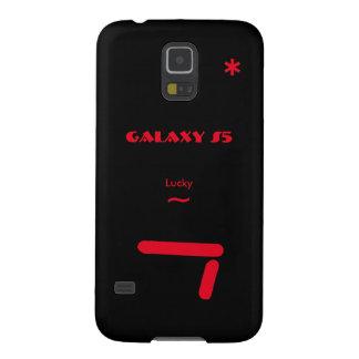 Hoesje 7 van de Melkweg van Samsung gelukkig Zwart