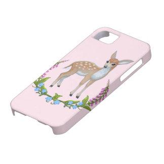 hoesje van baby het roze Leuke Fawn Iphone