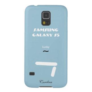 Hoesje van de Melkweg van Carolina het Blauwe Galaxy S5 Hoesje