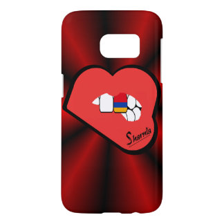 Hoesje van de Telefoon van Armenië van de Lippen