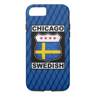 Hoesje van de Telefoon van Chicago het Zweedse