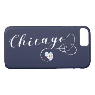 Hoesje van de Telefoon van het Hart van Chicago