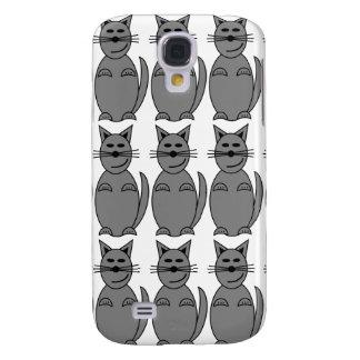Hoesje van de Telefoon van het kat het Mobiele Galaxy S4 Hoesje