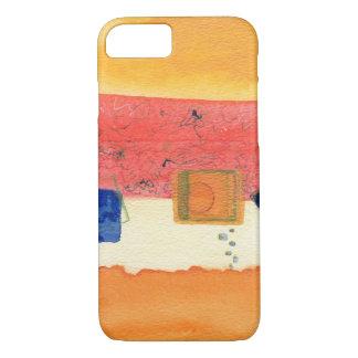 Hoesje van iPhone van de metamorfose het Abstracte