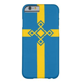 Hoesje van iPhone van de Rune van Zweden het Dwars