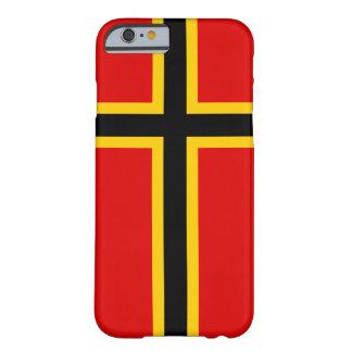 Hoesje van iPhone van Duitsland het Noordse Dwars
