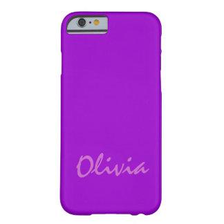 Hoesje van iPhone van Olivia het Purple Case-Mate