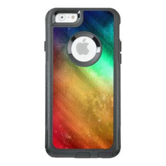 Hoesje van Otterbox van iPhone van de regenboog