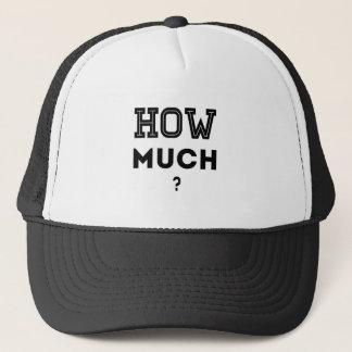 Hoeveel? Trucker Pet