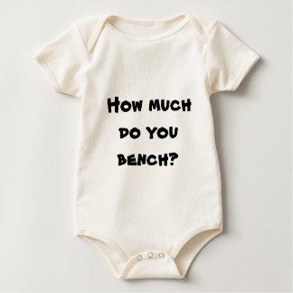 Hoeveel u bank? baby shirt
