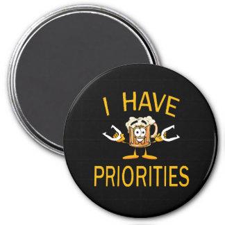 """Hoeven 3"""" Magneet - ik heb Prioriteiten"""