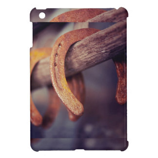Hoeven op Westerne Land van de Cowboy van de iPad Mini Cover