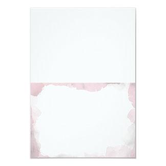 Hoffelijk bloos de Roze Huwelijk Gevouwen Kaarten 8,9x12,7 Uitnodiging Kaart