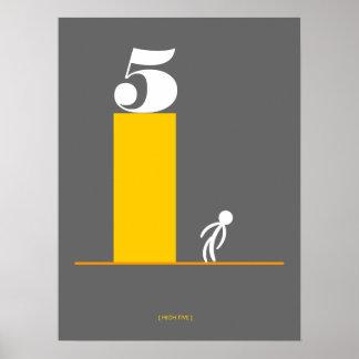 Hoge 5 poster