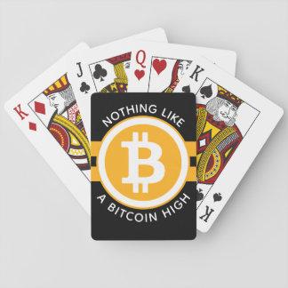 Hoge Bitcoin Speelkaarten