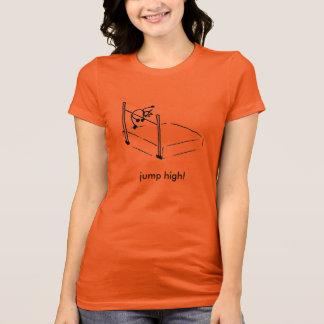 """Hoge de t-shirt """"sprong van het Man van de Stok"""