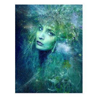 Hoge Preistess van het Briefkaart van het Water