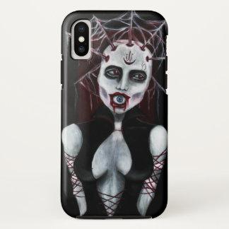 Hoge priestess de telefoondekking van het OOG iPhone X Hoesje