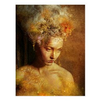 Hoge Priestess van het Briefkaart van de Aarde
