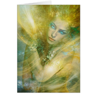 Hoge Priestess van Wind Briefkaarten 0