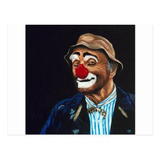 Hogere Billy de Clown Briefkaart