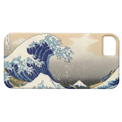 Hokusai Grote iPhone 5 van de Golf Geval (landscha Case-Mate iPhone 5 Hoesje
