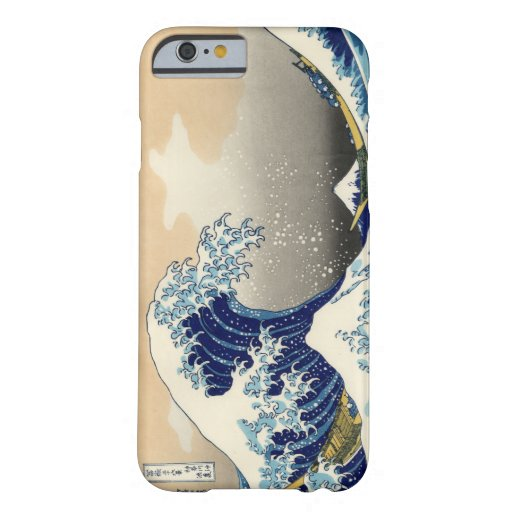 Hokusai Grote iPhone 6 van de Golf geval Barely There iPhone 6 Case
