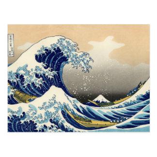 Hokusai het Grote Briefkaart van de Golf
