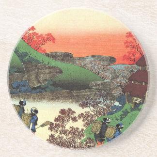 Hokusai - Japanse Kunst - Japan Zandsteen Onderzetter