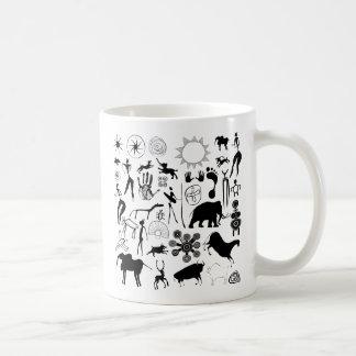 hol schilderijen - primitief art. koffiemok