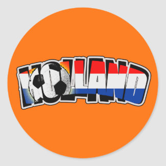 Holland 2010 ronde sticker