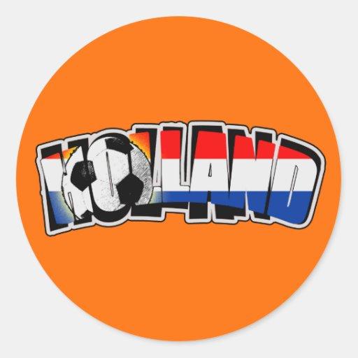 Holland 2010 ronde sticker