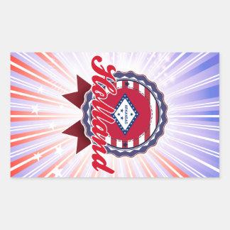 Holland, AR Rechthoekvormige Stickers