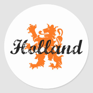 Holland Ronde Stickers