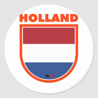 Holland Ronde Sticker