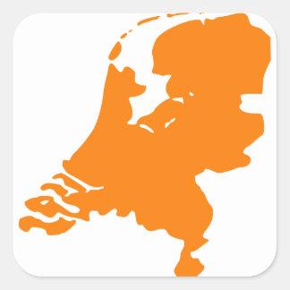 Holland Vierkante Stickers