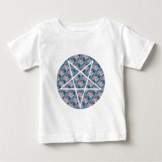 hologram pentagram baby t shirts