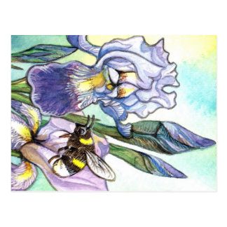 Hommel en Irissen Briefkaart