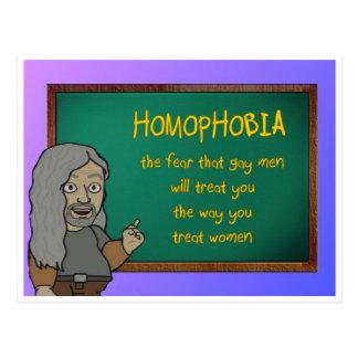 homophobia briefkaart