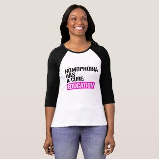 Homophobia heeft een behandeling - Onderwijs -- - T Shirt