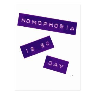 Homophobia is zo Vrolijke II Briefkaart