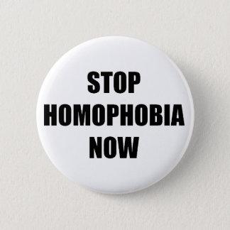 Homophobia van het einde ronde button 5,7 cm