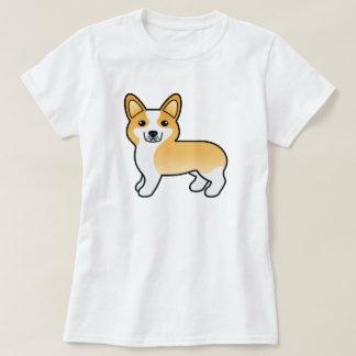 Hond Corgi van Pembroke van de Cartoon van Fawn de