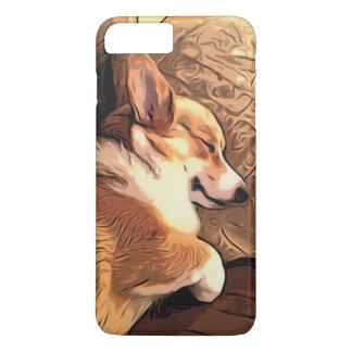 Hond Corgi van Pembroke van de slaap de Welse iPhone 8/7 Plus Hoesje