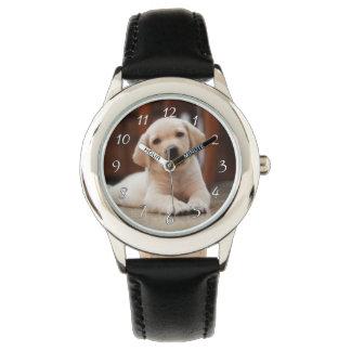 Hond die van het Puppy van Labrador van het baby Horloges
