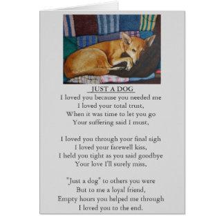 hond en huisdierenkaart van het sympathie de kaart