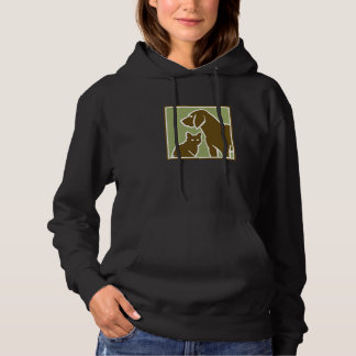 hond en kat hoodie