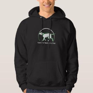 hond het lopen sweatshirt