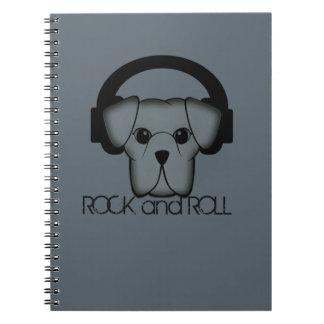 hond rots - en - broodje notitieboek