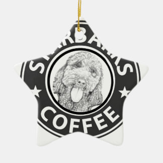 hond Starbucks Keramisch Ster Ornament